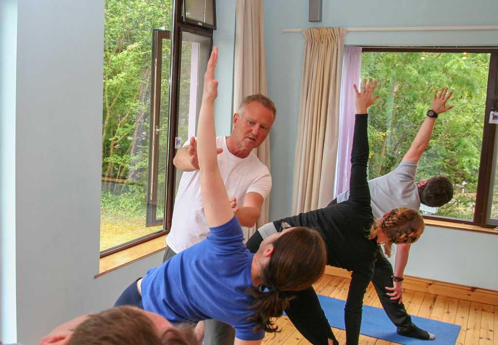 Gentle yoga weekend