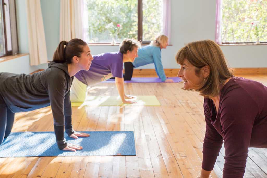 Hatha flow yoga retreat