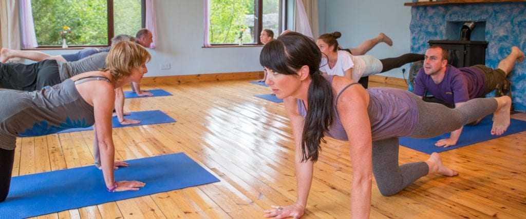 Kathryn Moynihan yoga teacher