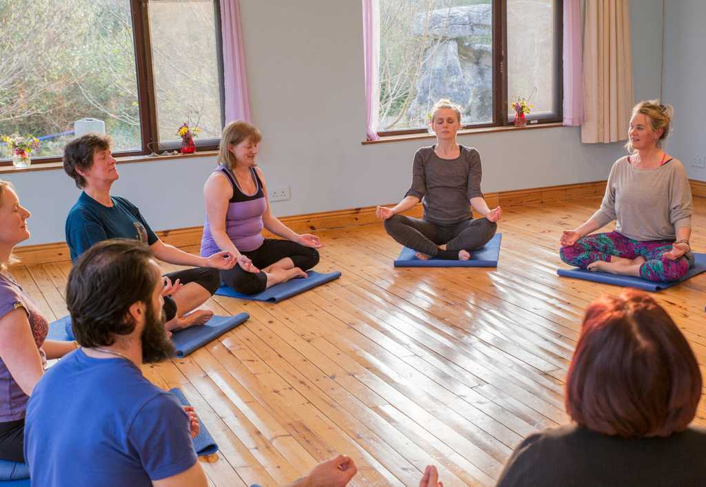 Meditation yoga retreat