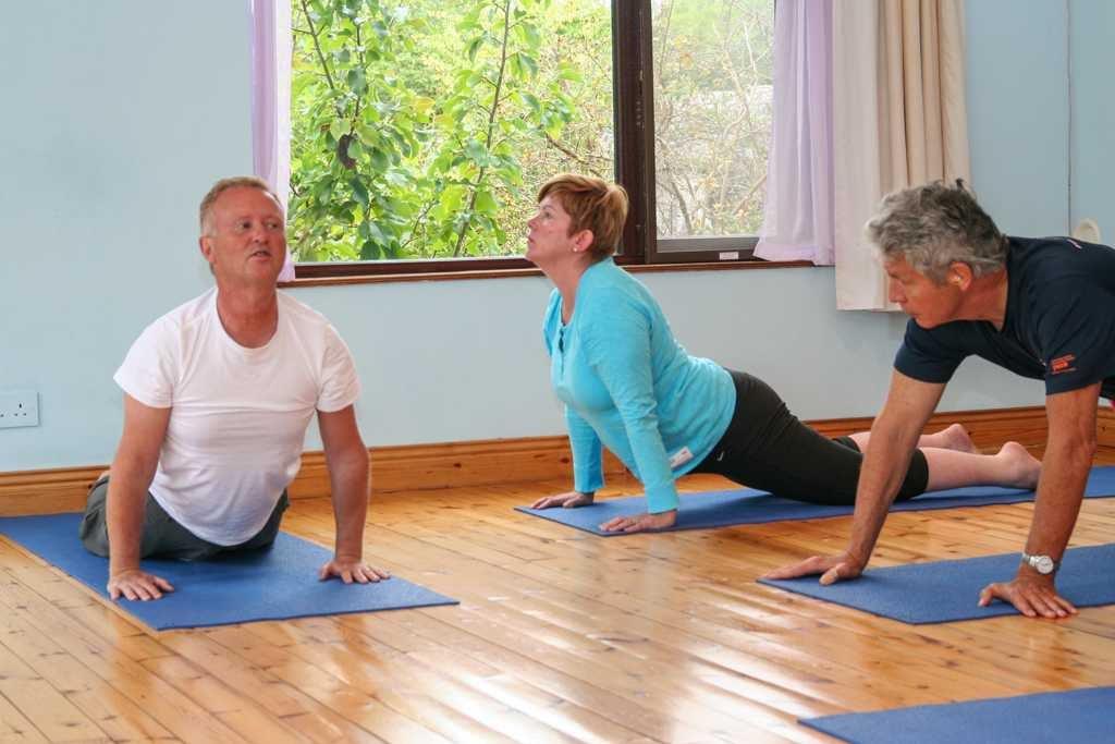 Satyananda yoga class