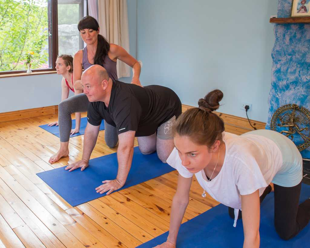 Vinyasa flow yoga retreat
