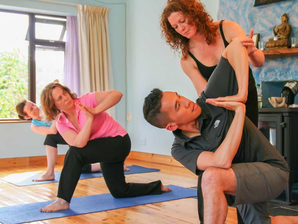Yoga boot camp retreat