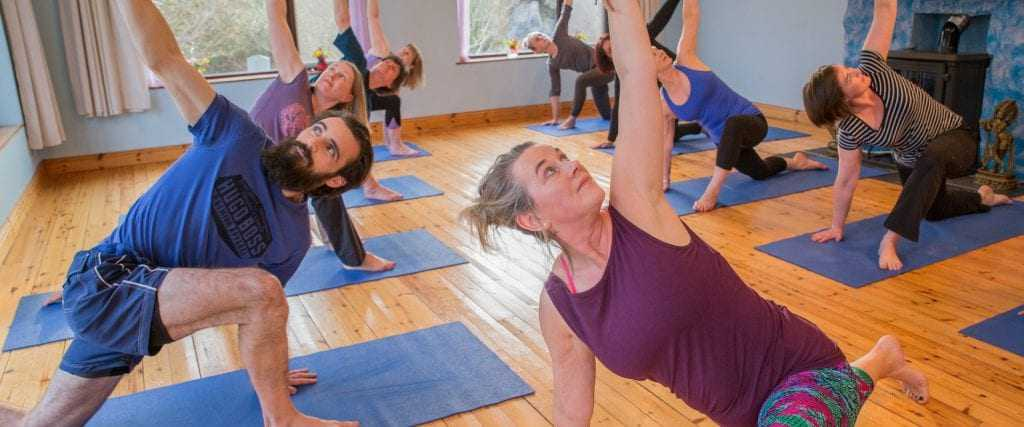 Vinyasa yoga teacher Carmel Cronin