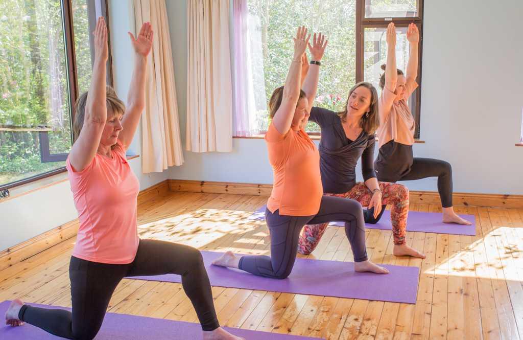 Yin inspired hatha yoga classes