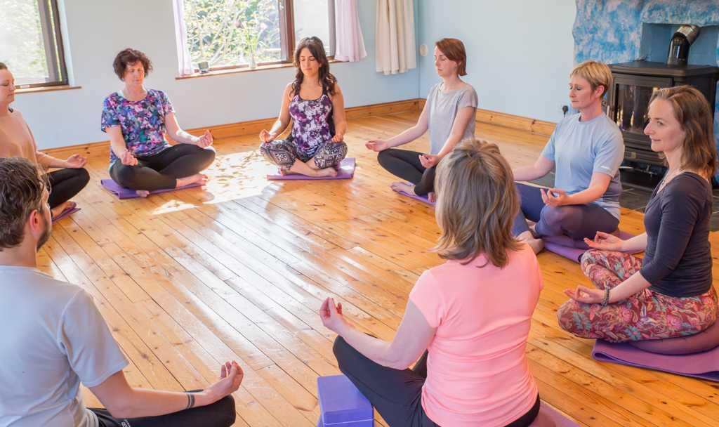 Yin yoga Ireland