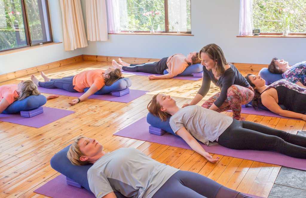Yin inspired hatha yoga retreat
