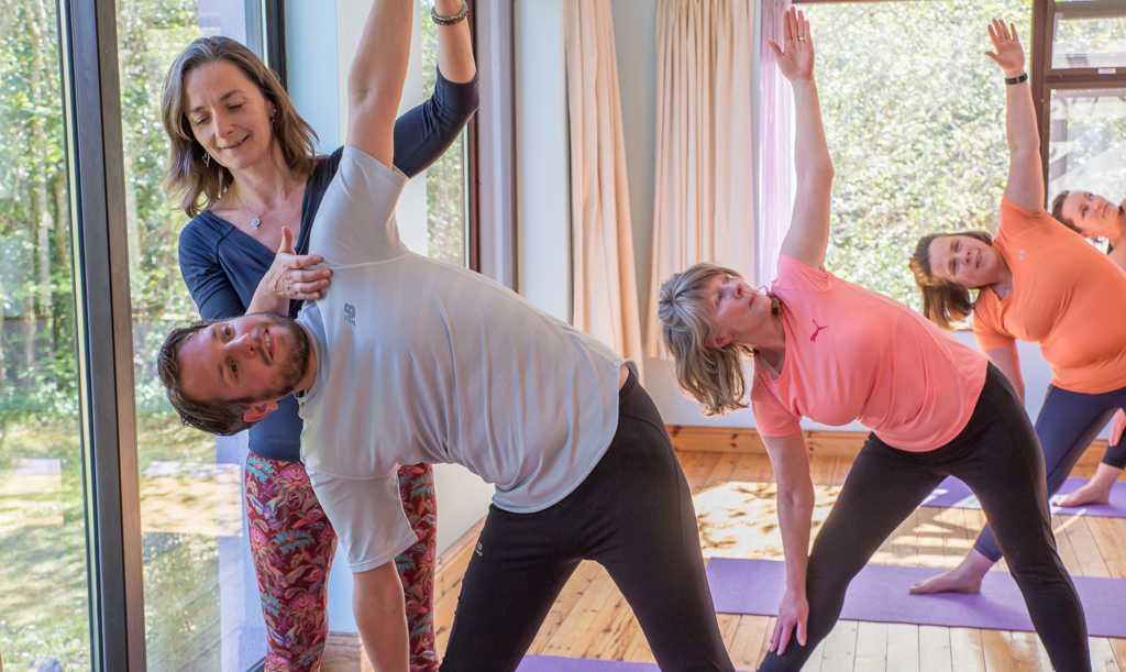 Yin inspired hatha yoga weekend