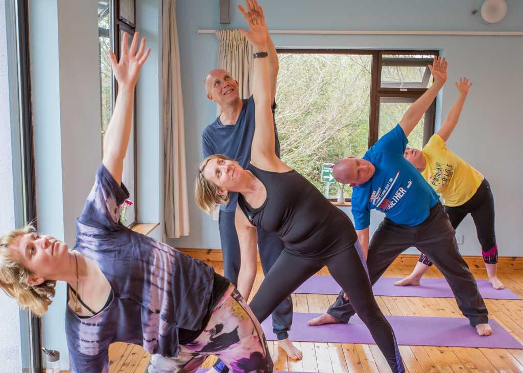 Yoga and meditation holiday