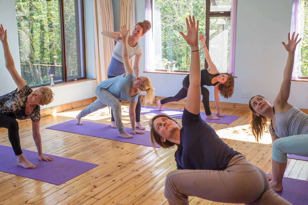 Yoga and meditation retreatv