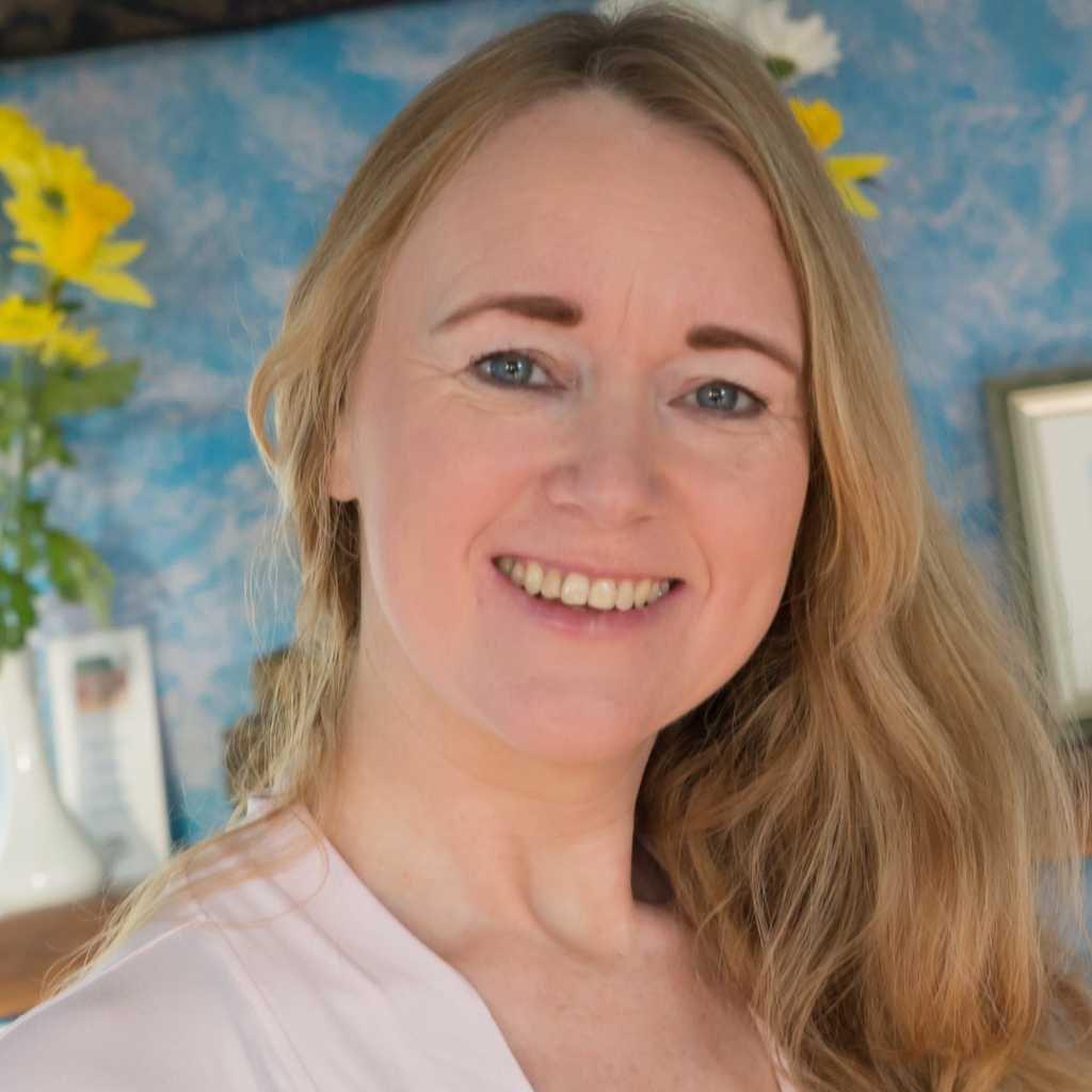 Yoga teacher Grainne O Malley