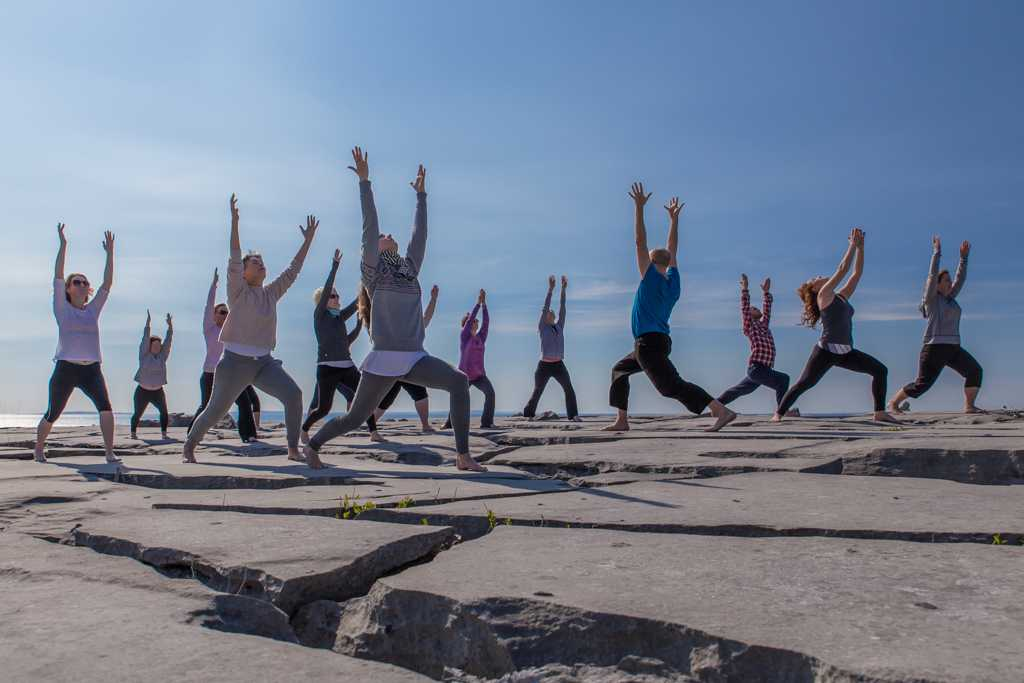 Yoga weekends in Ireland