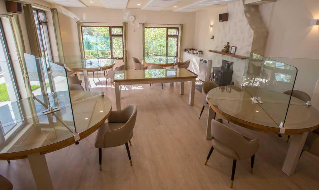 Dining room Burren Yoga Retreat