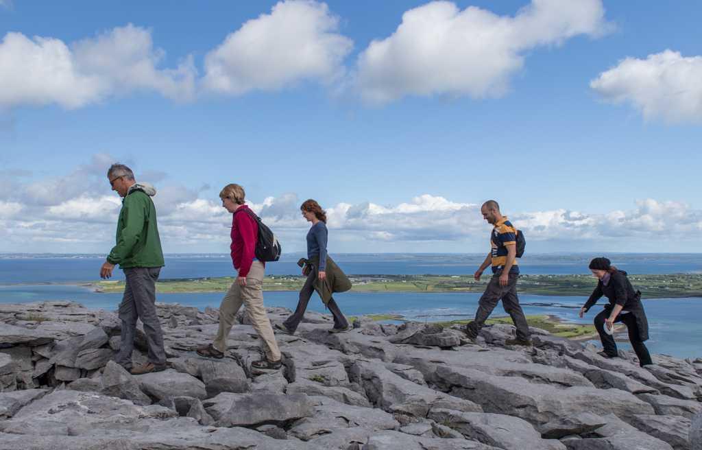 Great rock for hill walking