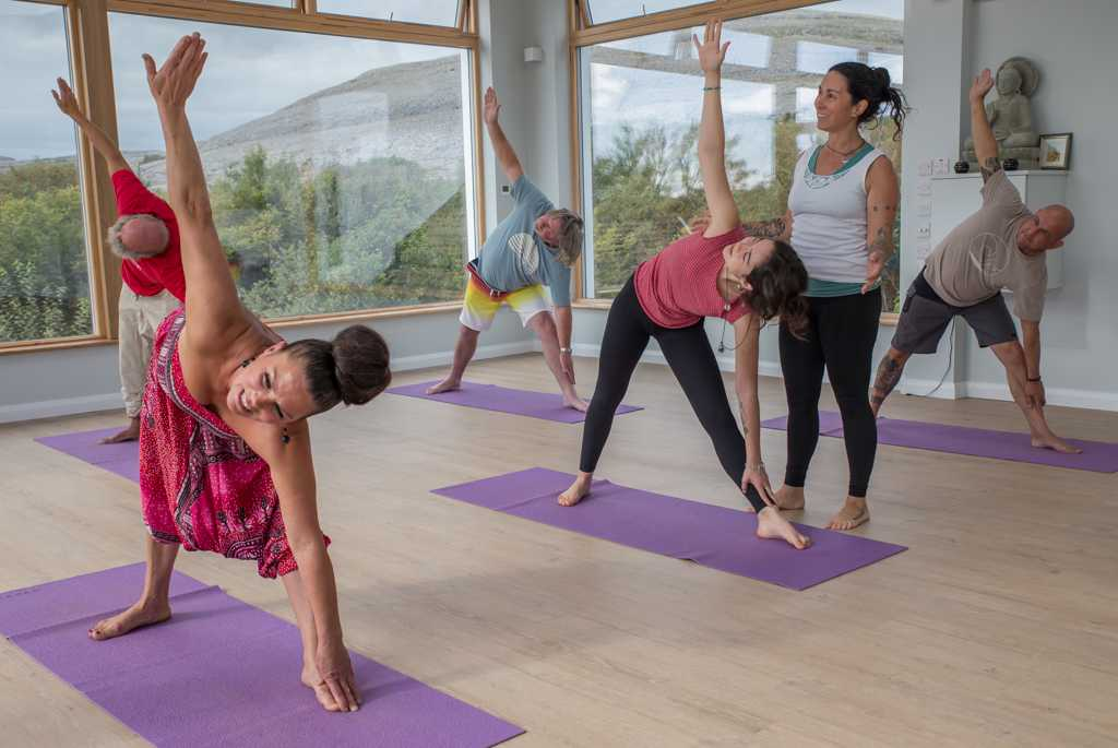 Weekend yoga retreat Ashtanga inspired Vinyasa Ireland