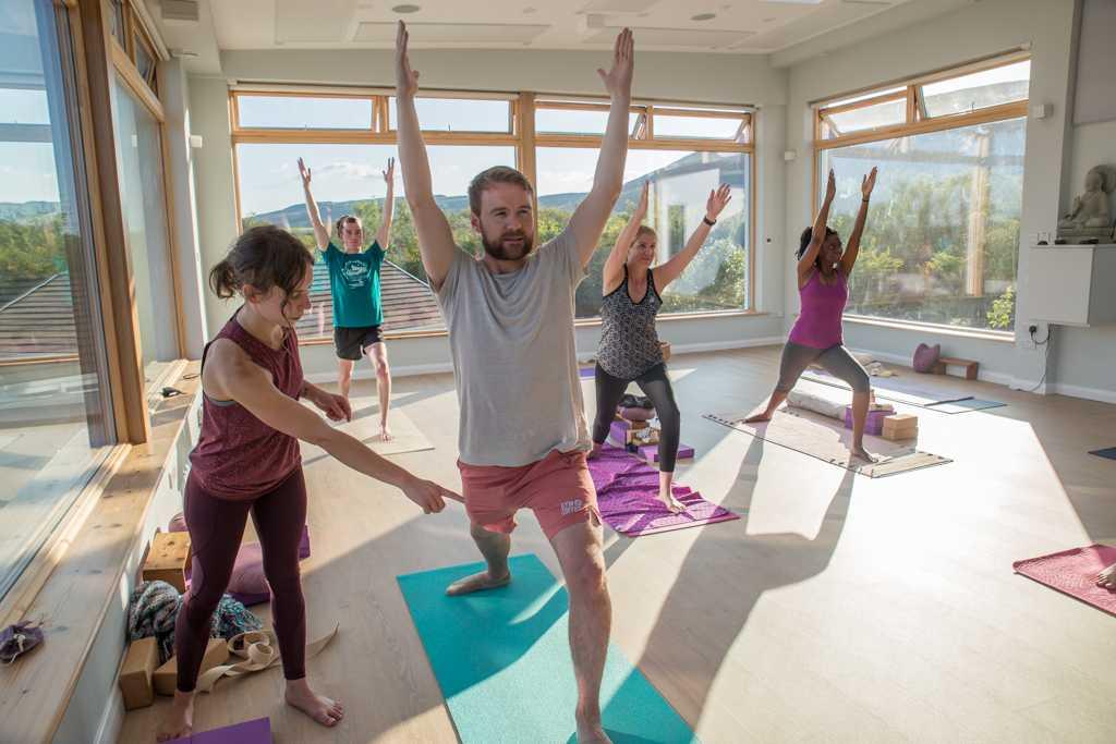 Yoga studio Karolina